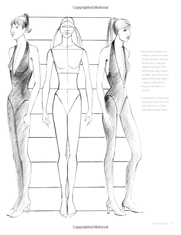 New Fashion Figure Templates - m