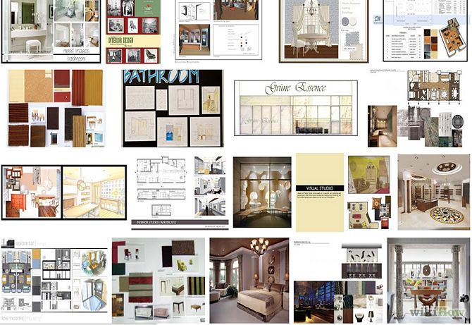 Interior designer portfolio layout portfolio pinterest Fit interior design portfolio