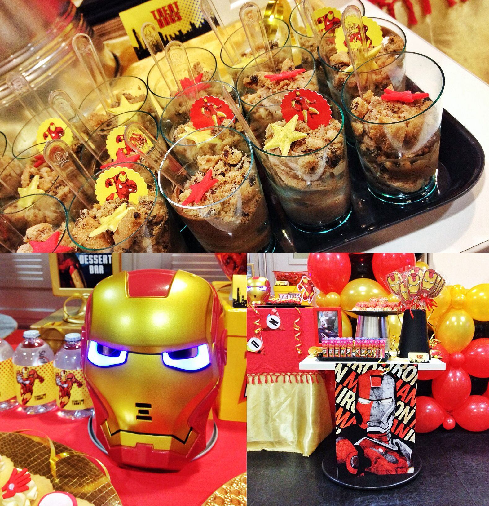 Ironman Themed Party