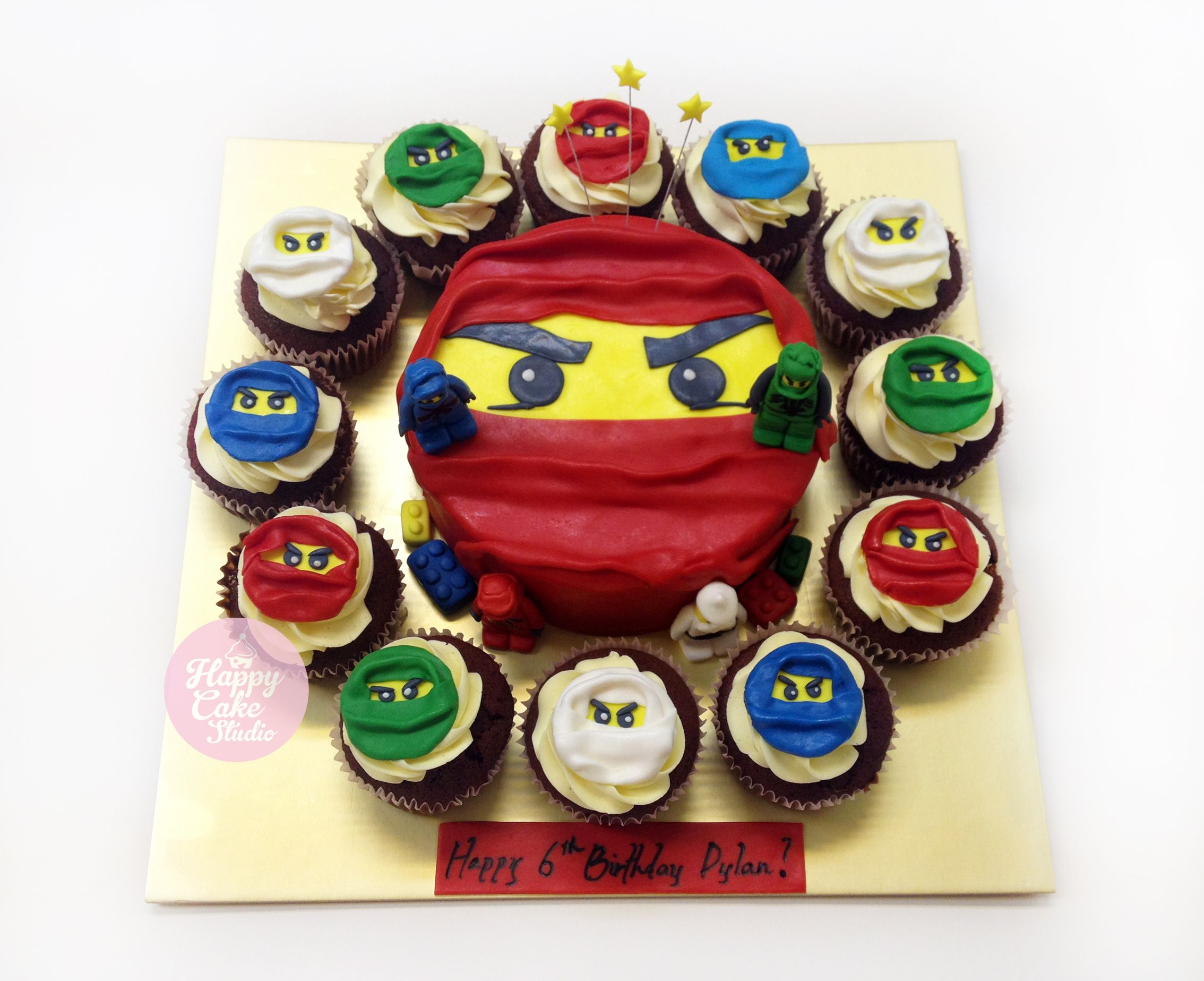 Ninjago 3D Cake Singapore / Giant White Ninja For Julian