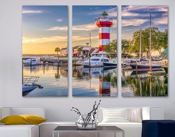 Hilton Head South Carolina Canvas Print Wall Art Sc Usa Etsy Canvas Print Wall Wall Art Prints Canvas Prints