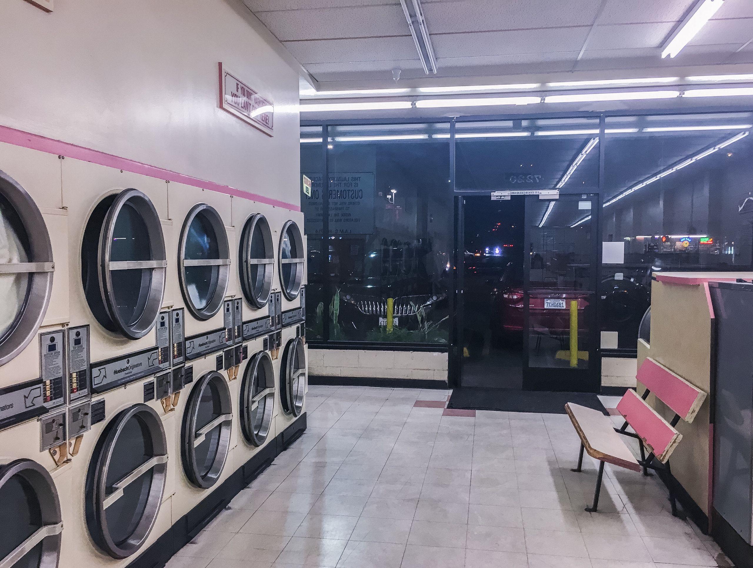 Laundromat In Hollywood Signe Pierce Artist Photographer