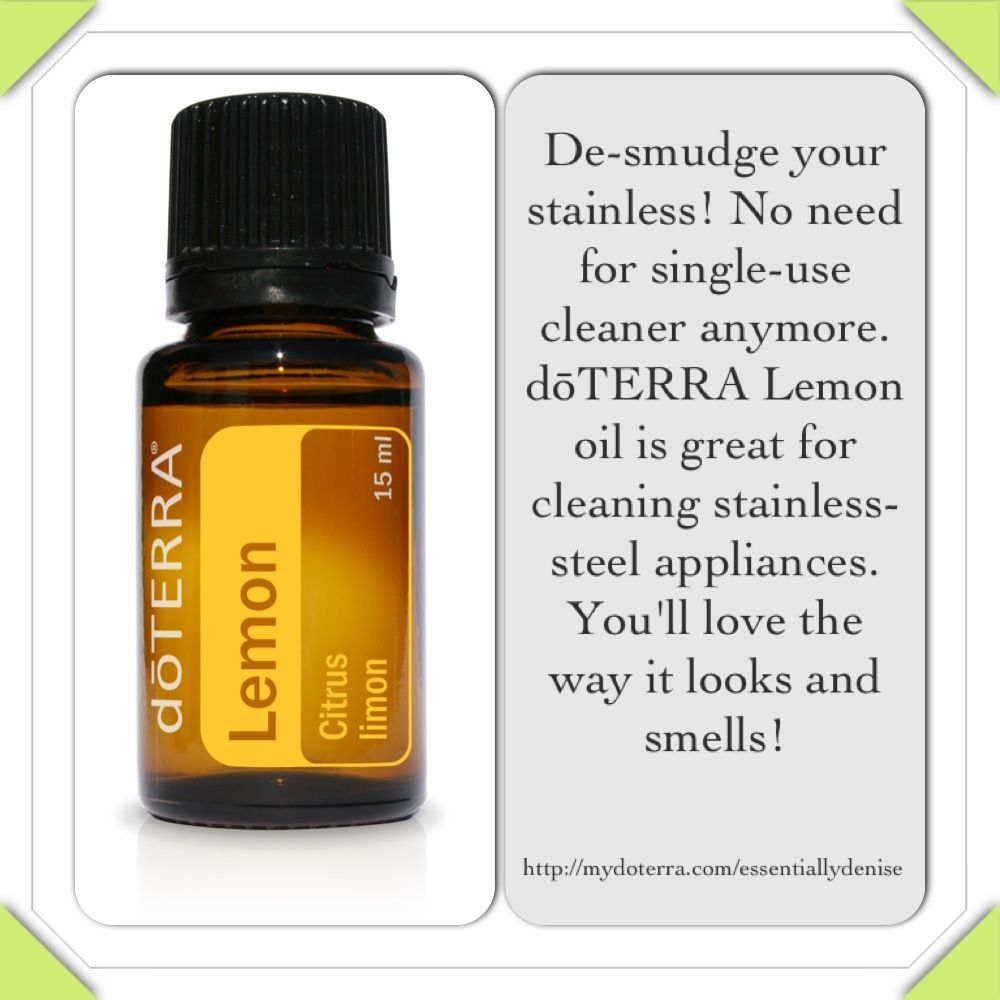 Diy Stainless Steel Cleaner De Smudge Your Surfaces Liances W Dōterra