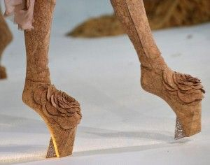 couture shoes - Lady Gaga
