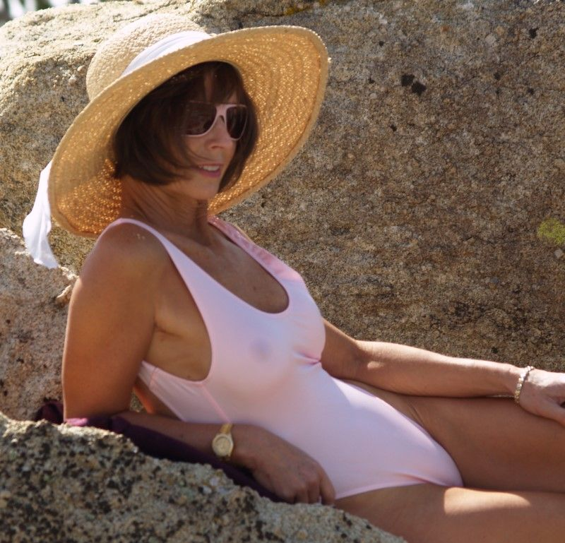 Sheer 2Scoops, Sheer When Wet One Piece Swimsuit By -7566