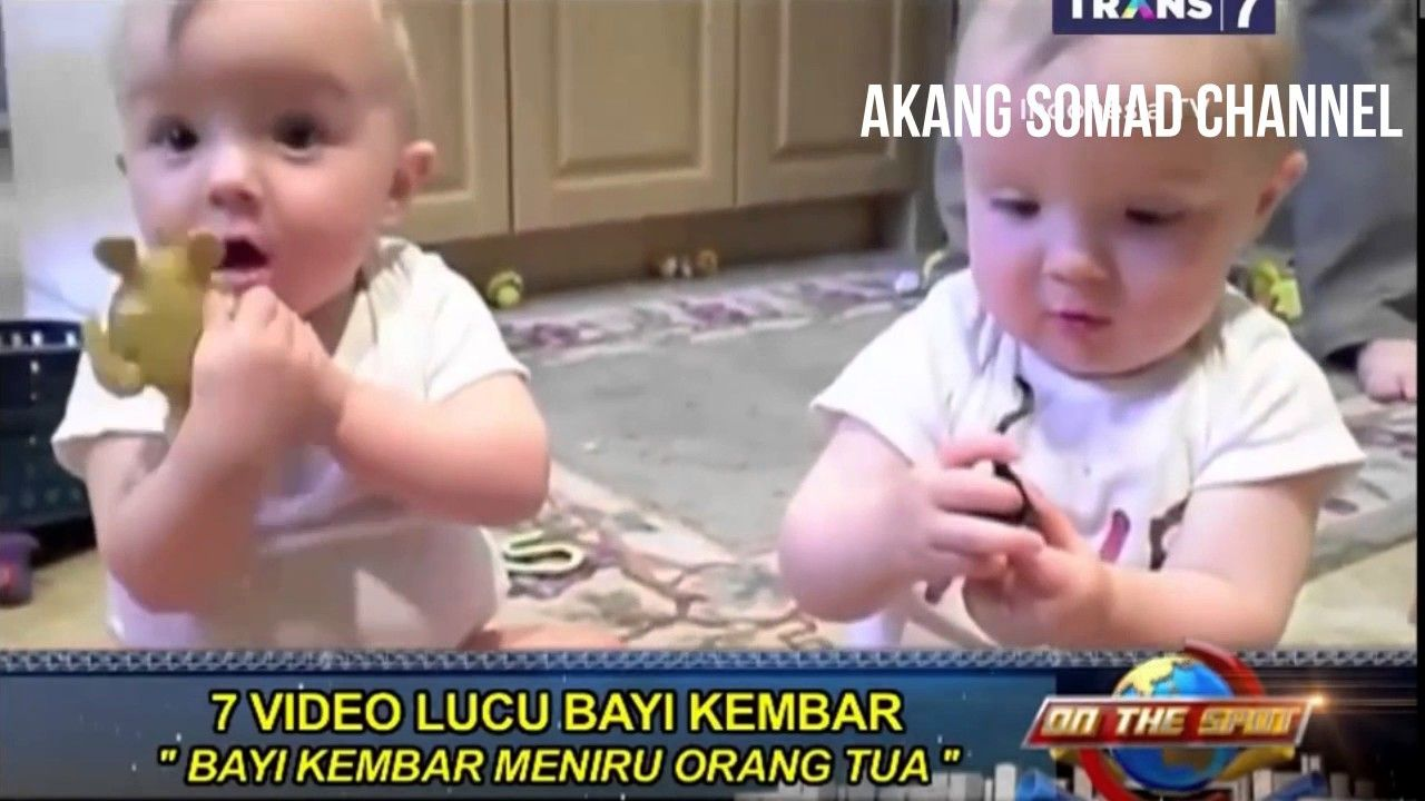 7 Video Lucu Bayi Kembar On The Spot Terbaru Trans7 2017