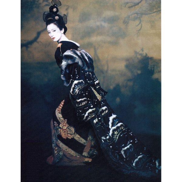 Memoirs of a geisha ❤ liked on Polyvore featuring asian, geisha and kimono