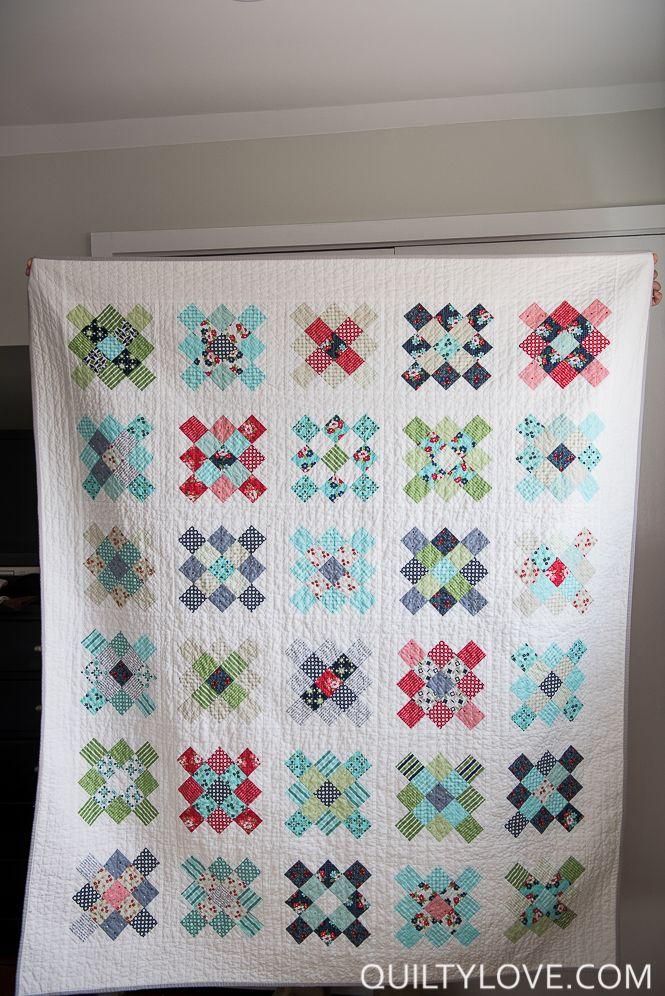 Scrappy Granny Squares Quilt Tutorial Quilts Already