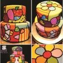 A cake inspired by the Art of Romero Britto