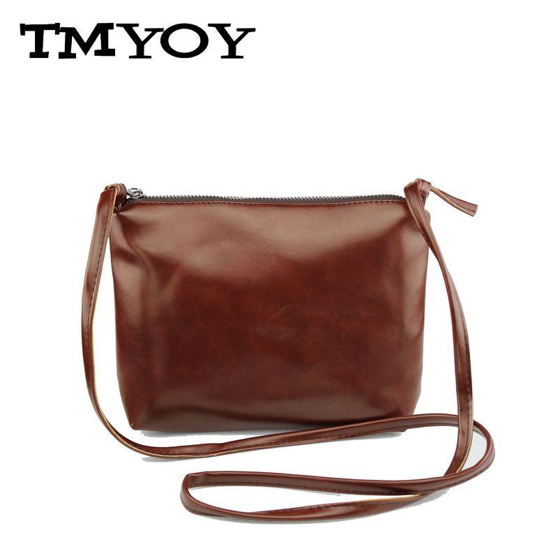 TMYOY 2017 New arrive soft pu leather bag ladies Vintage woman ... 4254b87e81e1c
