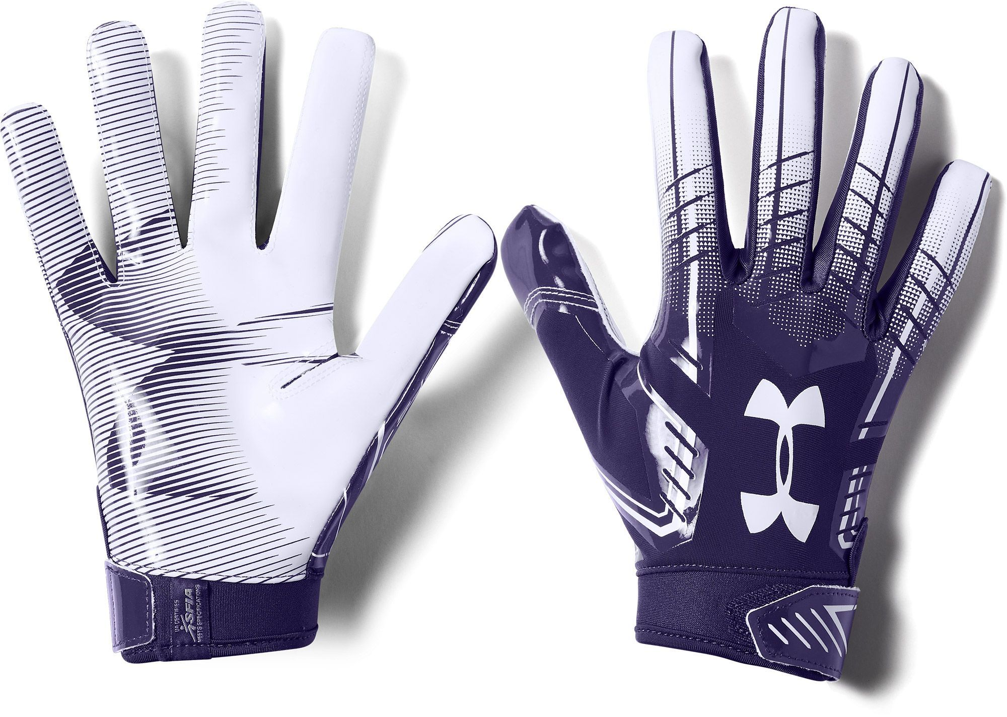 Tratamiento tarjeta Peculiar  Under Armour Adult F6 Receiver Gloves | Under armour, Gloves, Purple