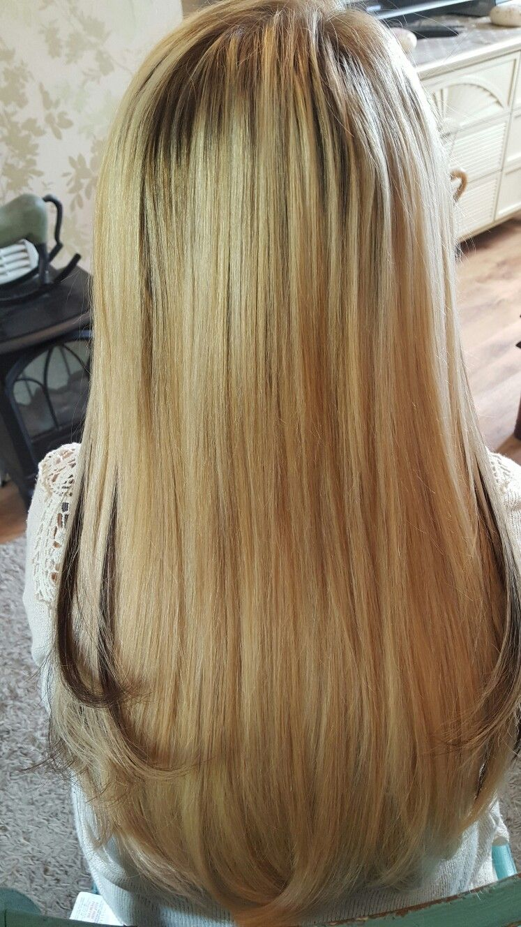 Nano Ring Hair Extensions On Fine Hair X Hair Extensions By Foxy