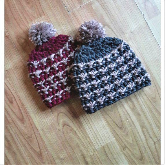 Crochet pattern - Confetti fair isle hat by Invenzioni di Filo ...