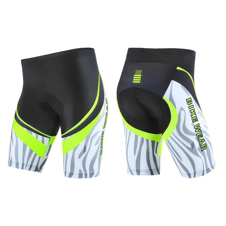 Men Riding Bike Shorts MTB Bicycle Half Pants Gel Padding Biking Tights Clothing