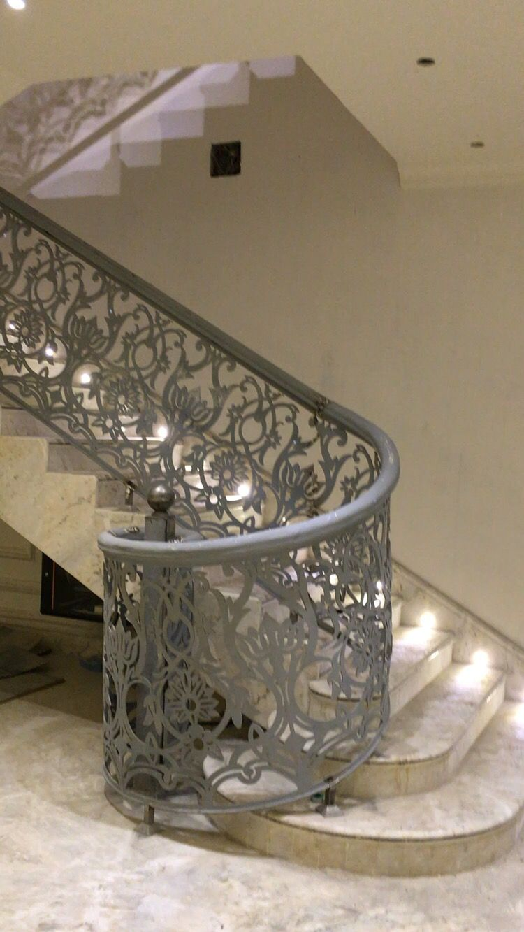 Best Idea By Yesabeer On House Decor Modern Staircase Railing 400 x 300