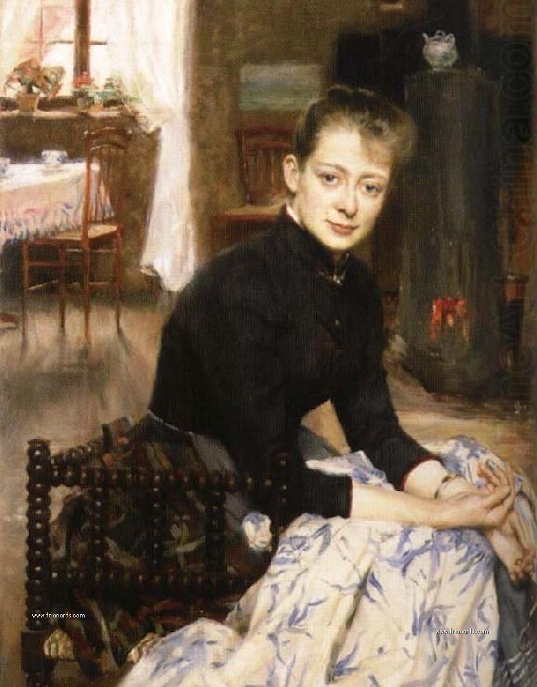Richard Bergh,Realismo sueco del siglo XIX, Maestros del retrato y ...