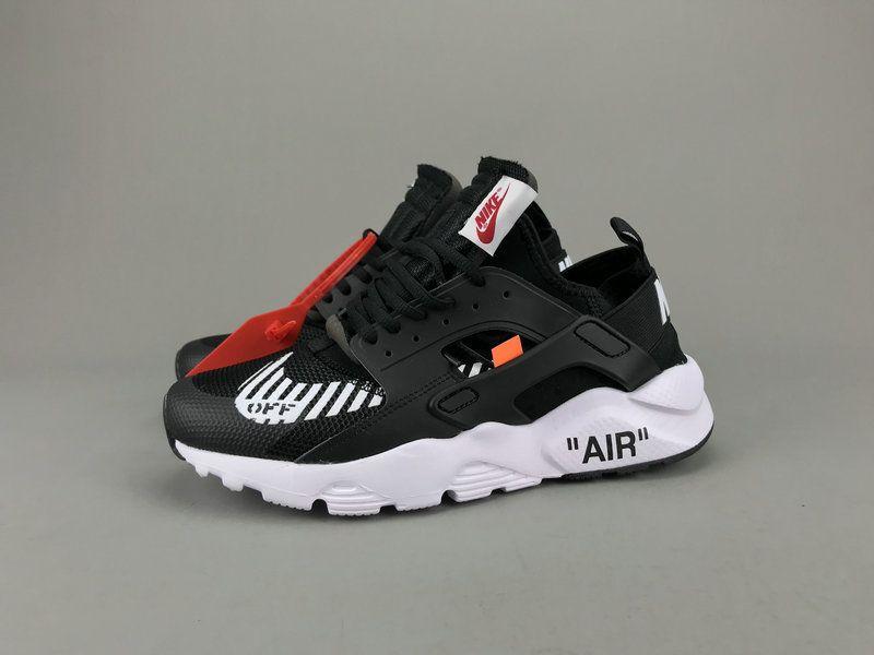 1be1e1b5129cf Newest Off White x Nike Air Huarache Ultra Black White AA3841-001 ...