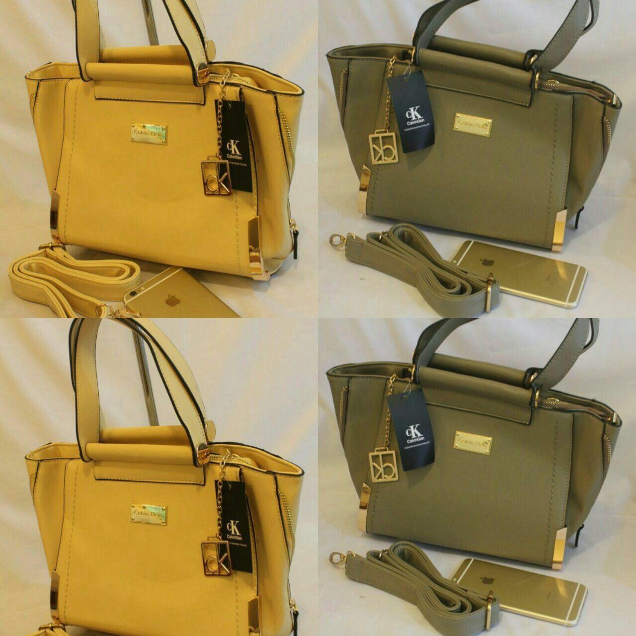 شنط من Calvin Klein متوفرة بعدة الوان السعر 250 Bags Top Handle Bag Hermes Kelly