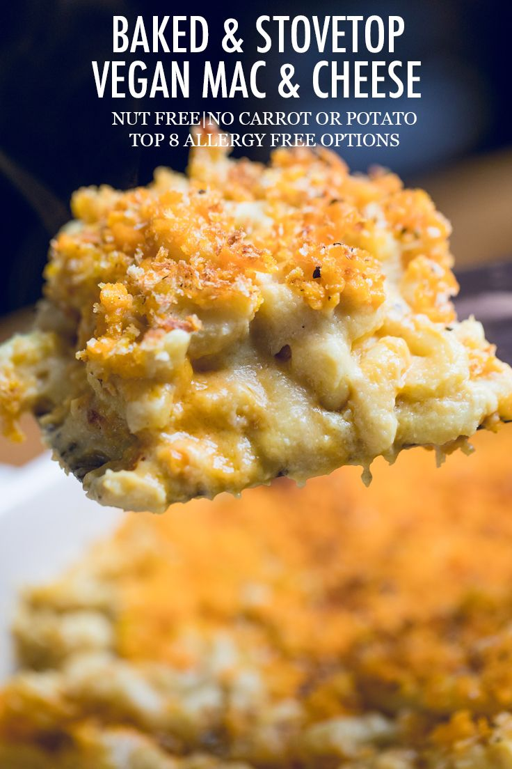 Hands Down The Best Vegan Mac And Cheese Recipe We Show You How To Make Vegan Baked And Stovetop Mac An Vegan Mac And Cheese Recipes Vegan Mac N Cheese Recipe