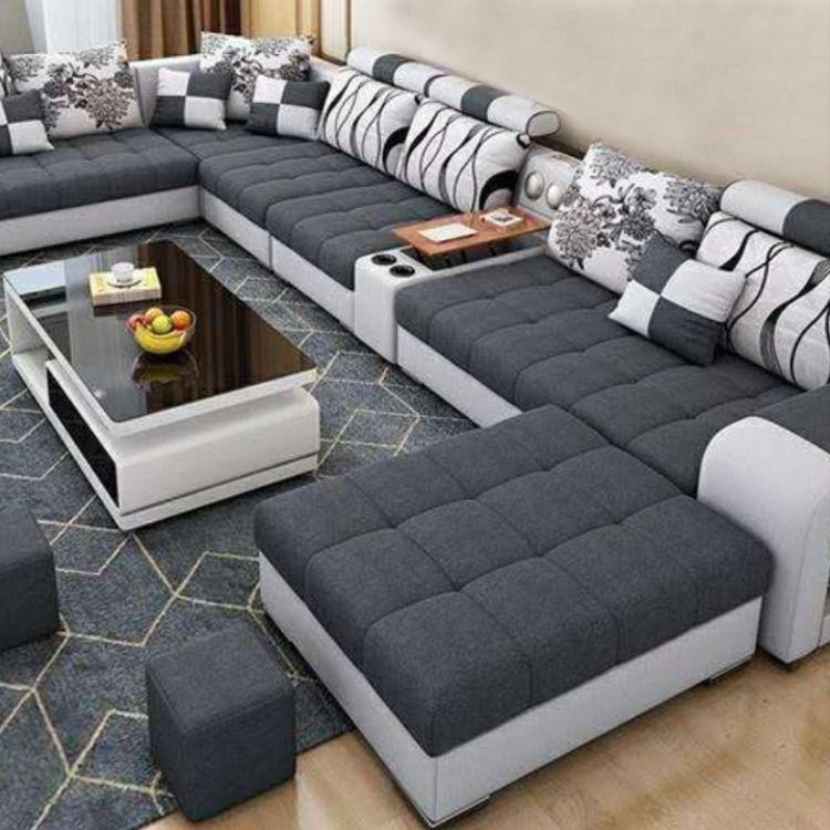 Hot Sale U Shape Sofa In 2021 Luxury Sofa Design U Shaped Sofa Living Room Sofa Design U shaped living room furniture