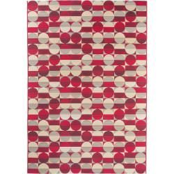 Photo of benuta Plus indoor & outdoor carpet Artis Red 120×180 cm – for balcony, terrace & garden