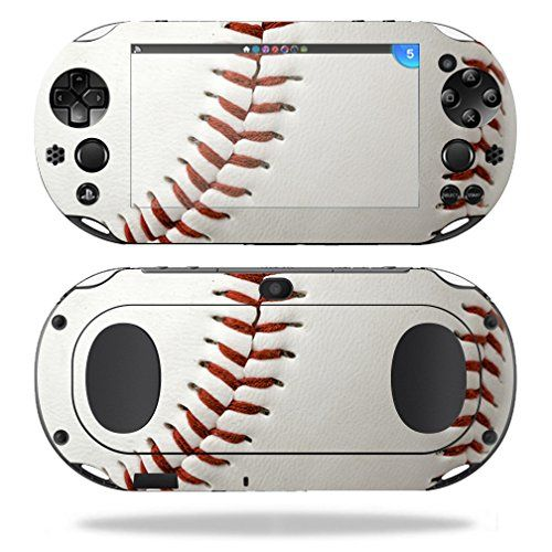 MightySkins Protective Vinyl Skin Decal for Sony PS Vita WiFi 2nd Gen wrap cover sticker skins Baseball * Be sure to check out this awesome product.Note:It is affiliate link to Amazon.