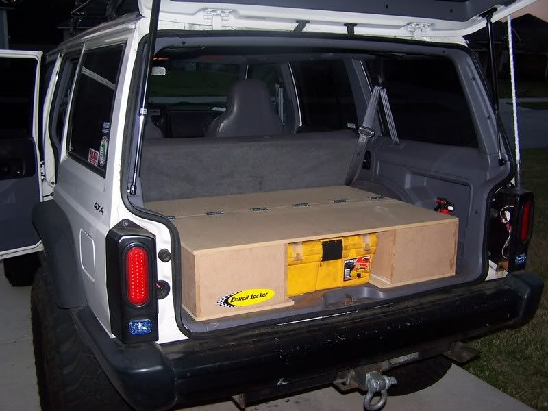 Please Share Photos Of Your Cargo Area Page 23 Naxja Forums North American Xj Association Jeep Xj Jeep Cherokee Xj Lifted Jeep Cherokee