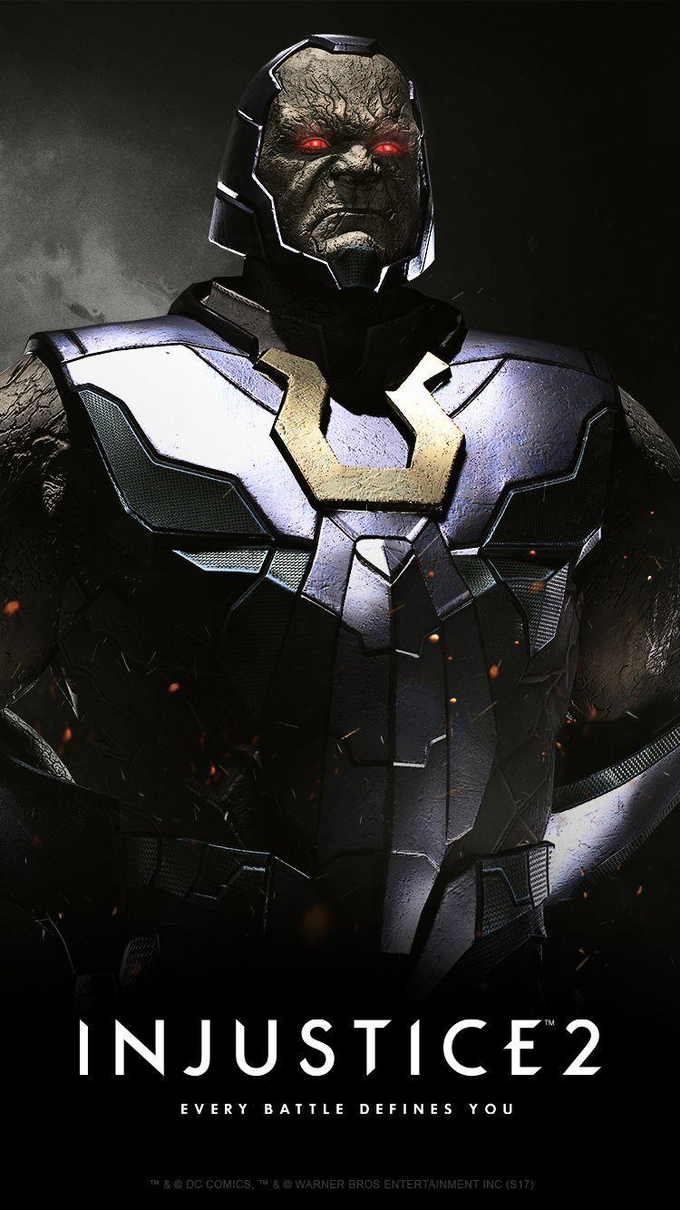 Darkseid Dc Injustice Comic Villains Injustice 2 Characters