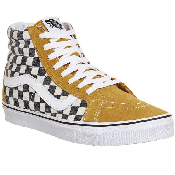 8019700df5a Vans Sk8 Hi Reissue ( 87) ❤ liked on Polyvore featuring shoes ...