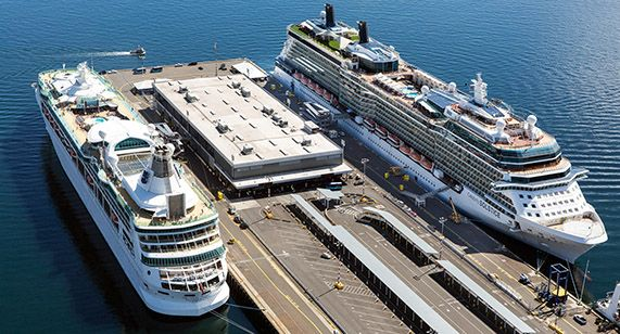 Smith Cove Cruise Terminal at Pier 91 Seattle, Washington - fresh blueprint builders seattle