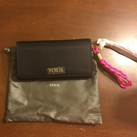 TOUS cell phone wallet TOUS cell phone wallet, New, never used, comes with dust bag. Tous Bags Wallets