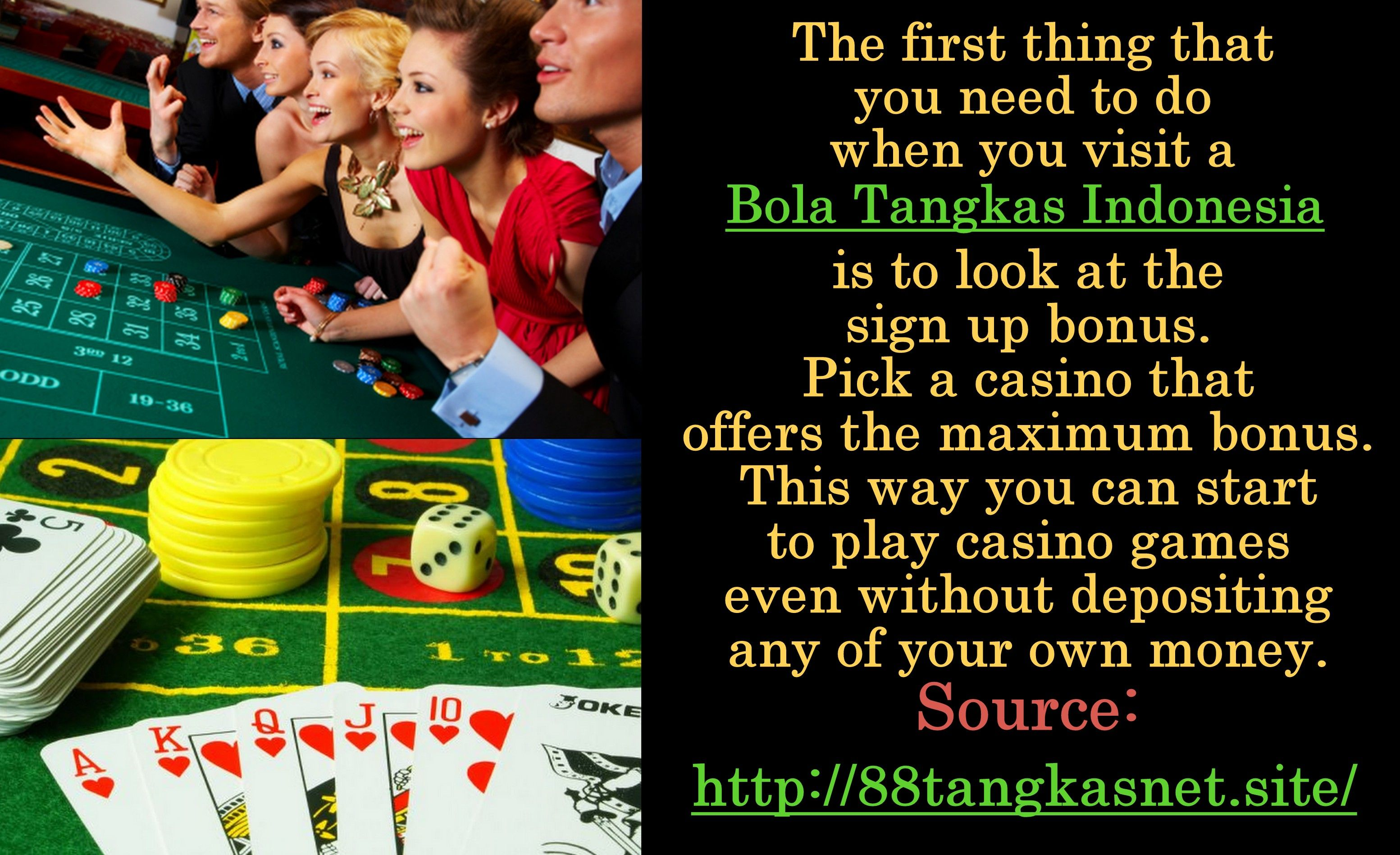 When people play online casinos, they get peace of mind and relaxation in an environment that they are familiar with. Instead of listening to the noisy casino where they can be easily distracted, online casinos help them to play in an atmosphere that they choose. For More Information about agen bola tangkas, please check http://88tangkasnet.site/
