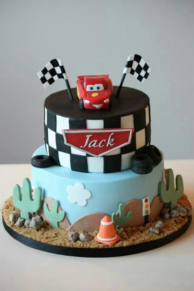 Lightening Mcqueen Cars Cake Cars Pinterest Car cakes McQueen
