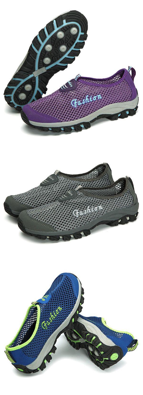 Grande Taille Séchage Rapide Chaussures Casual Sport De Randonnée En Plein Air haj71qJTxp