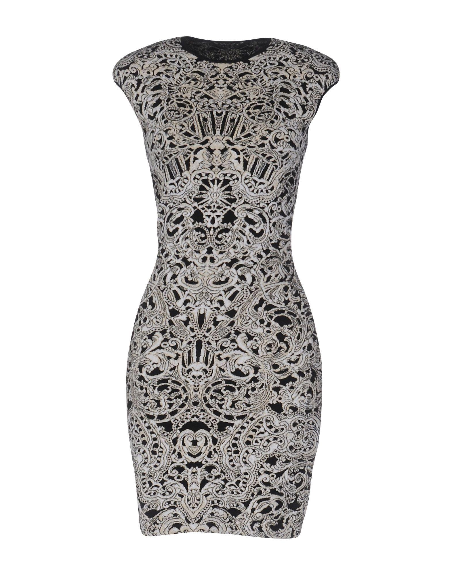 Alexander mcqueen women short dress on yoox the best online