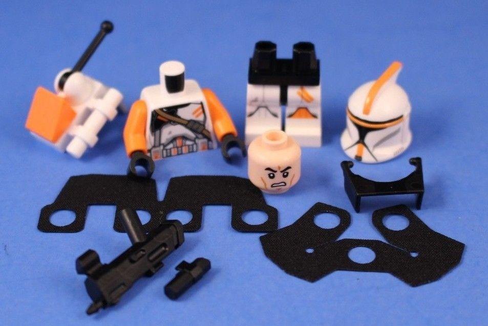 LEGO® STAR WARS™ 212th CLONE COMMANDER™ DELUXE Phase I + Custom ...
