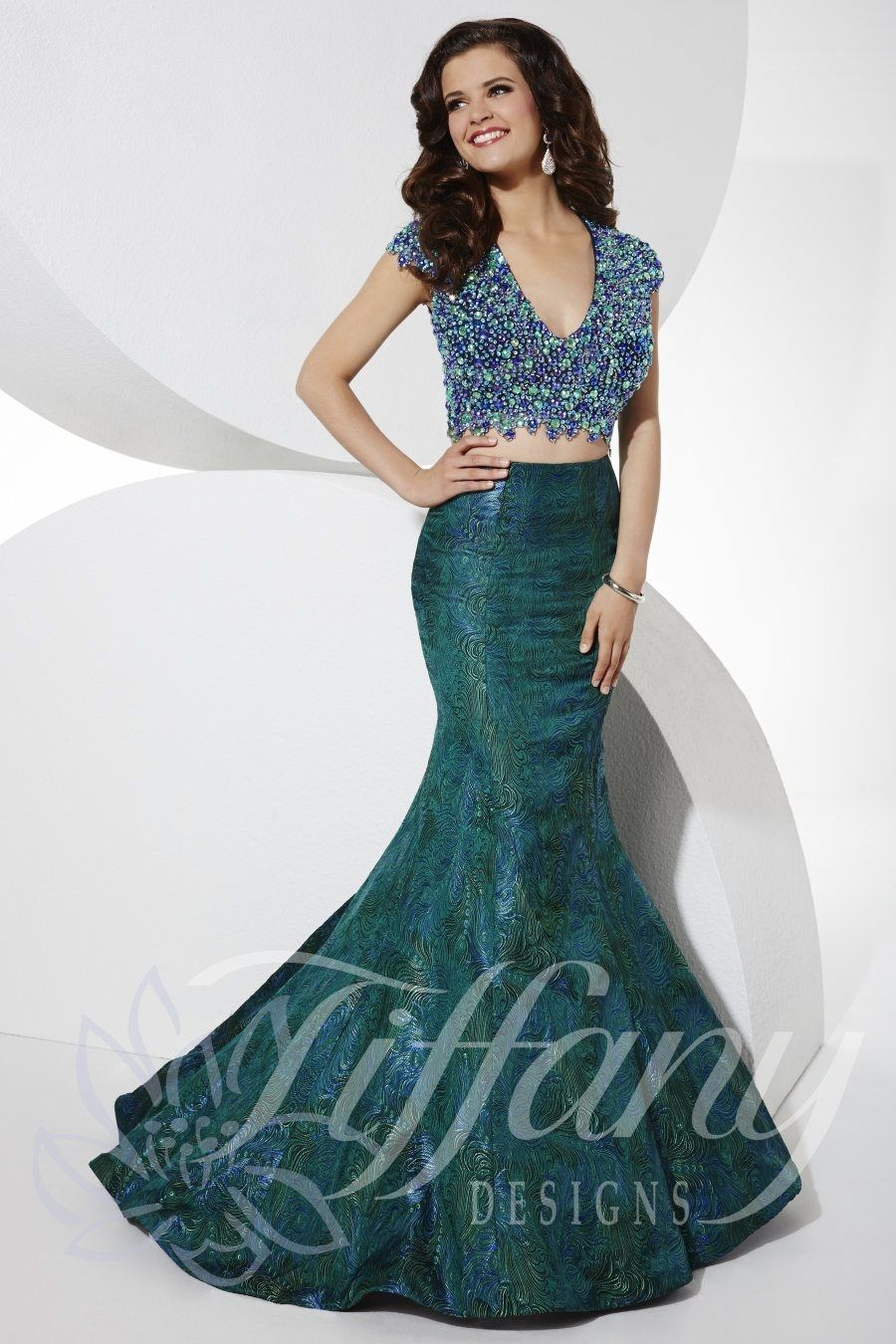 Tiffany designs prom dress long gown everythingpageants