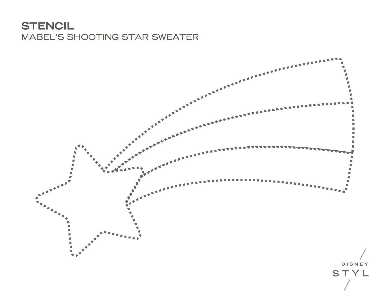 DIY: Mabel Pines' Shooting Star Sweater