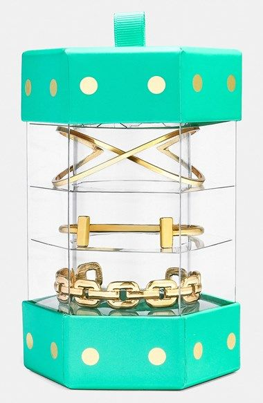 BaubleBar 'Classic: Everyday Bracelet Stack' Bangle Gift Set available at #Nordstrom