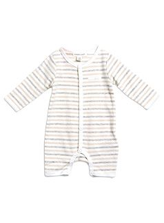 Baby Newborn + Accessories Stripe All-in-one Cream Freeze all in one