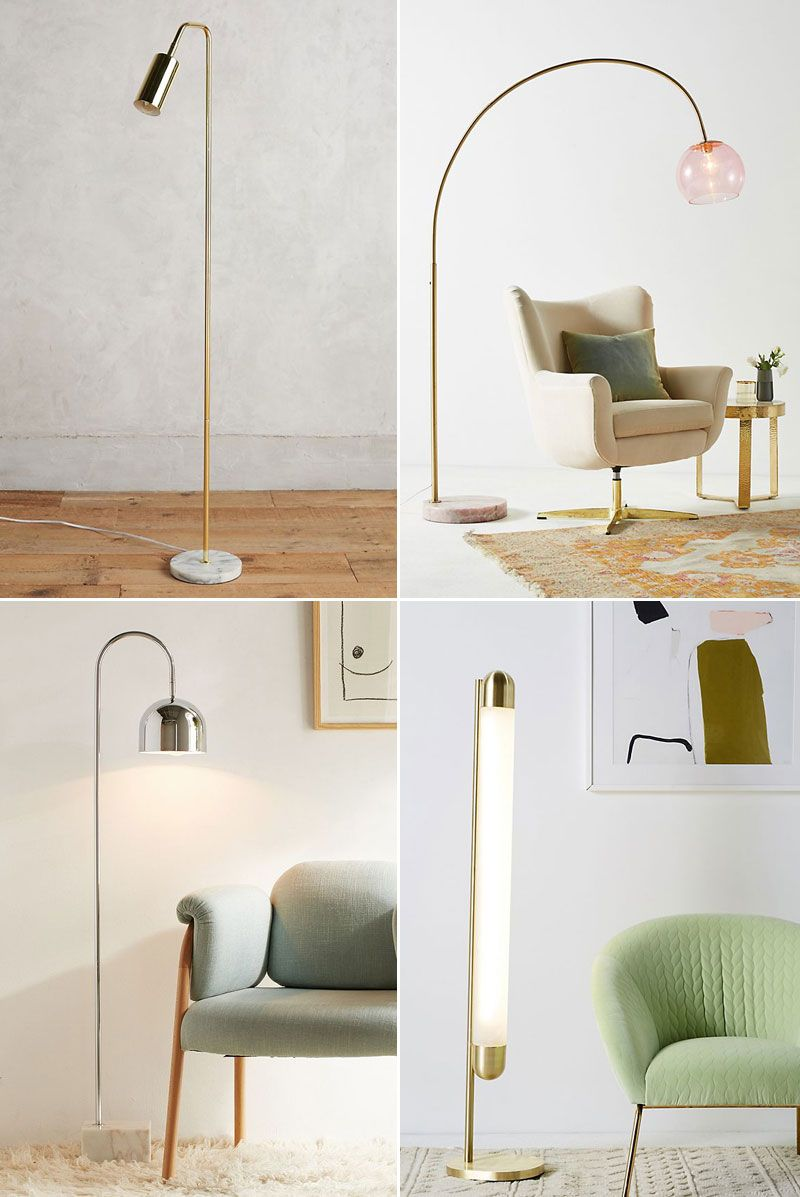 25 Stylish Floor Lamps For Your Small Space Home Decor Bedroom