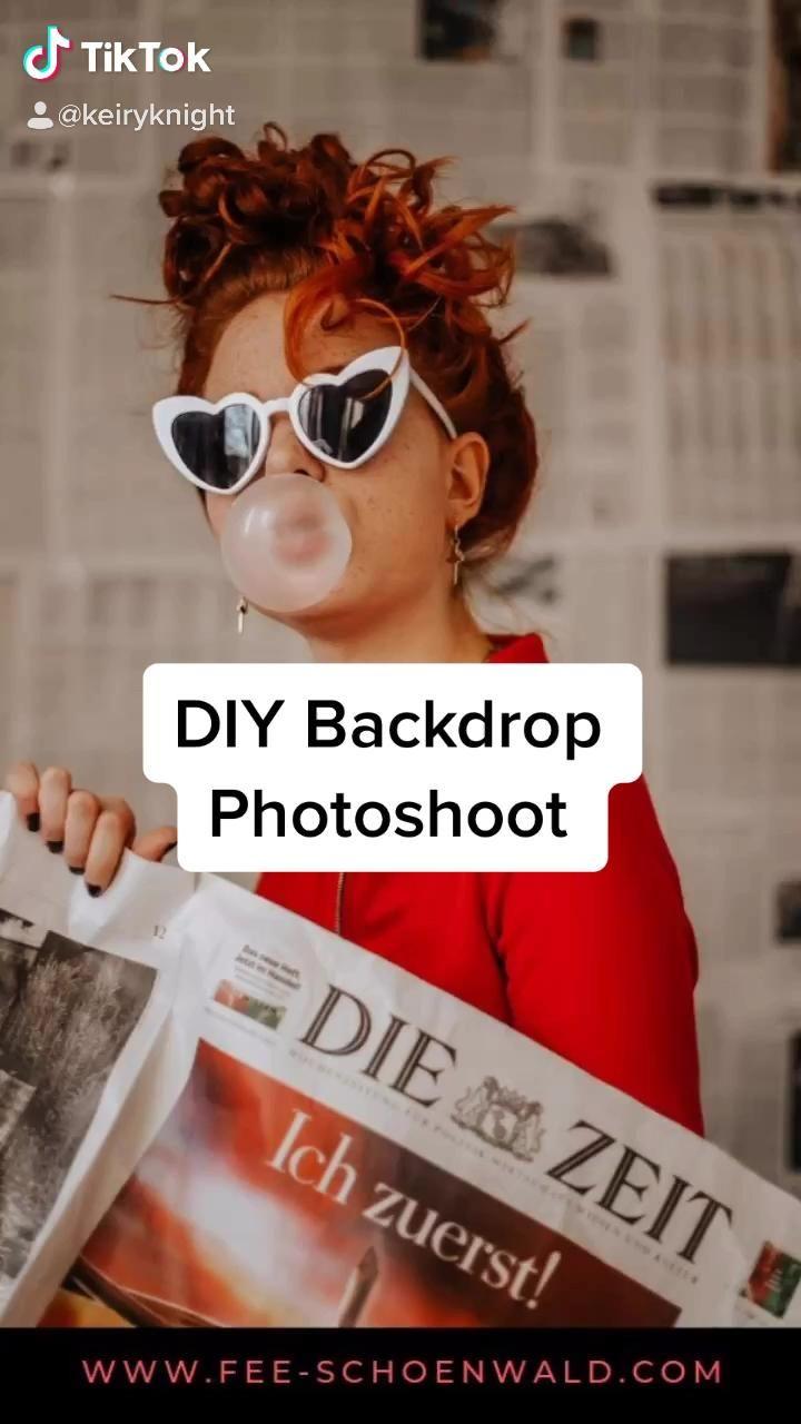 #photography #photooftheday #diyphotography #diyphotobackdrop #newspaper