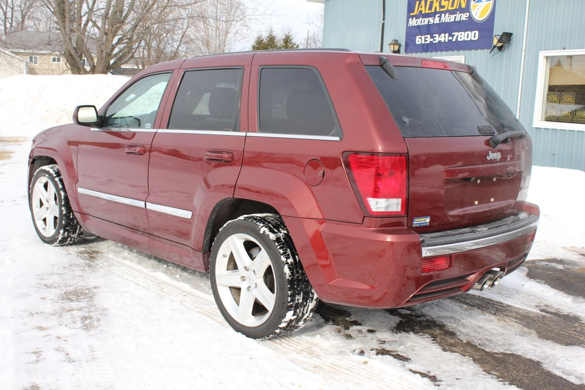 Pin On Sold 2007 Jeep Grand Cherokee Srt8 W Nav Dvd Sunroof