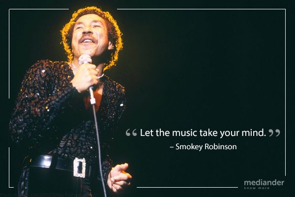 American R&B singer Smokey Robinson was born in Detroit, Michigan on this day in 1940. Happy 75th, Smokey!
