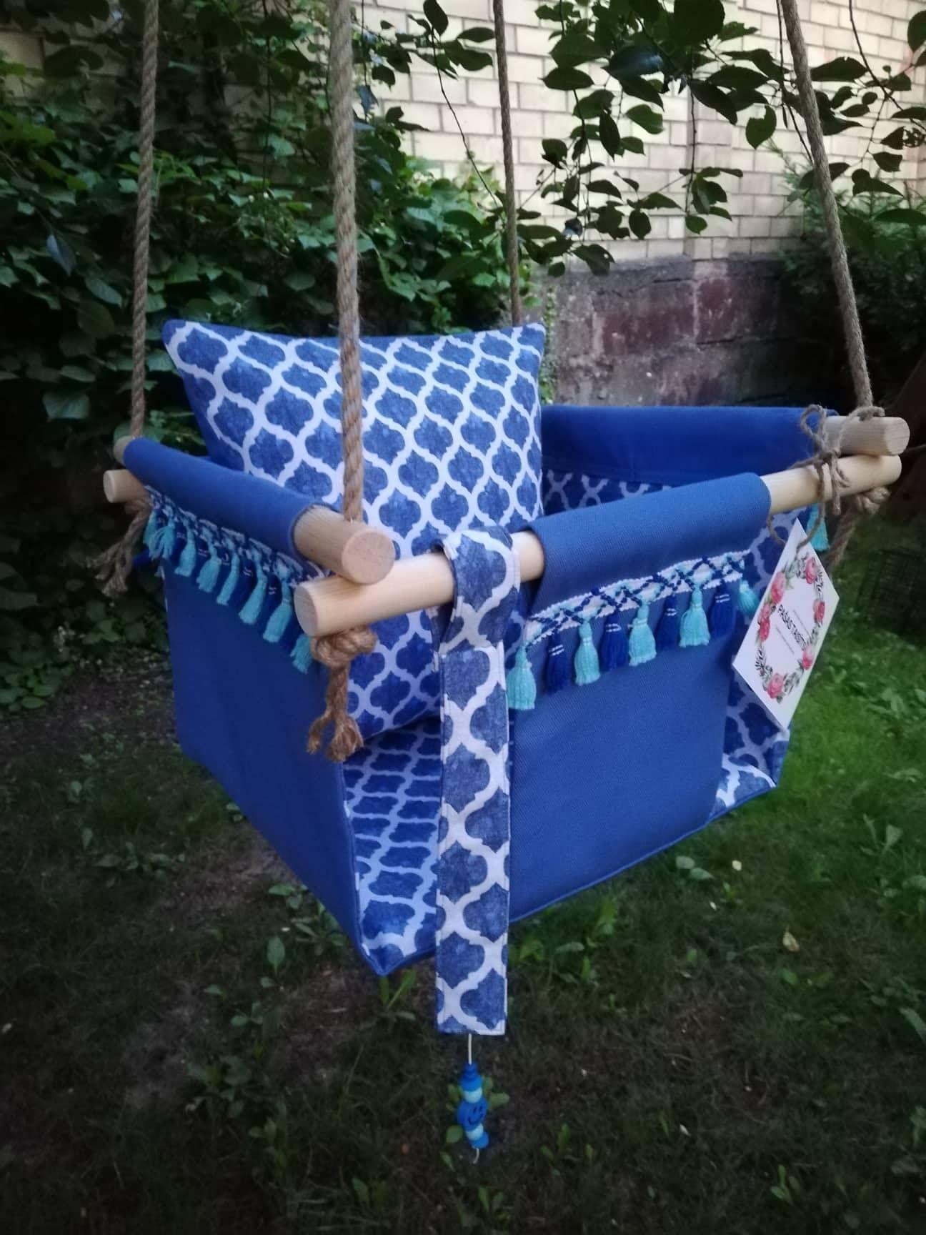 Baby swing toddler swing indoor swing nursery decor baby hammock