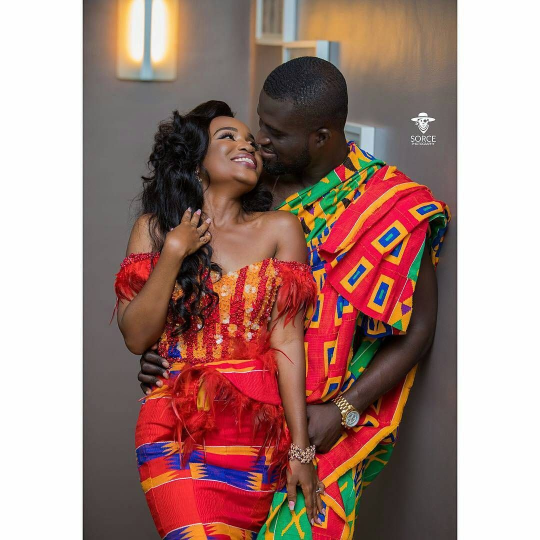 ❤Happy does it! West African Wedding #kente #ghana #coted\'ivoire ...