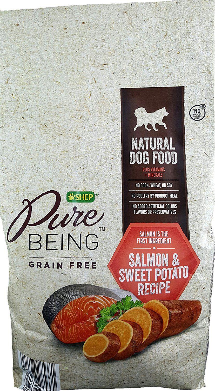 Shep Pure Being Grain Free Natural Dog Food (4lbs.) Salmon