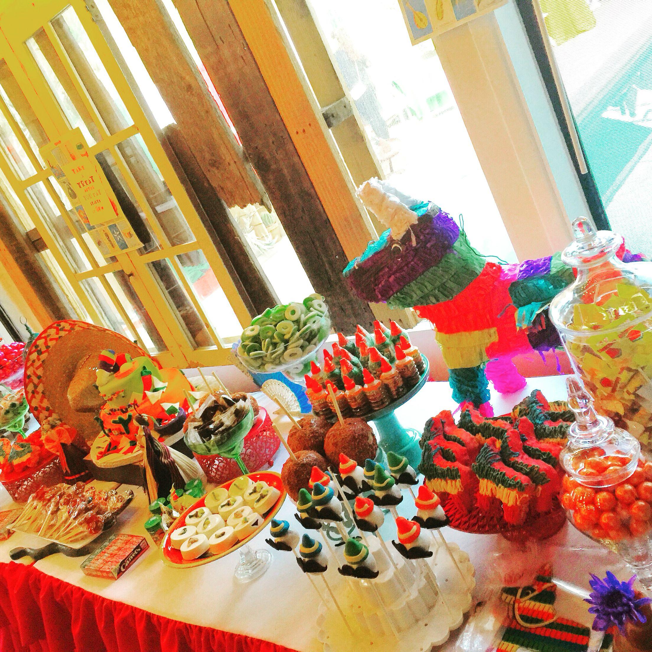 Fiesta Dessert Table Fiesta Candy Station Dessert