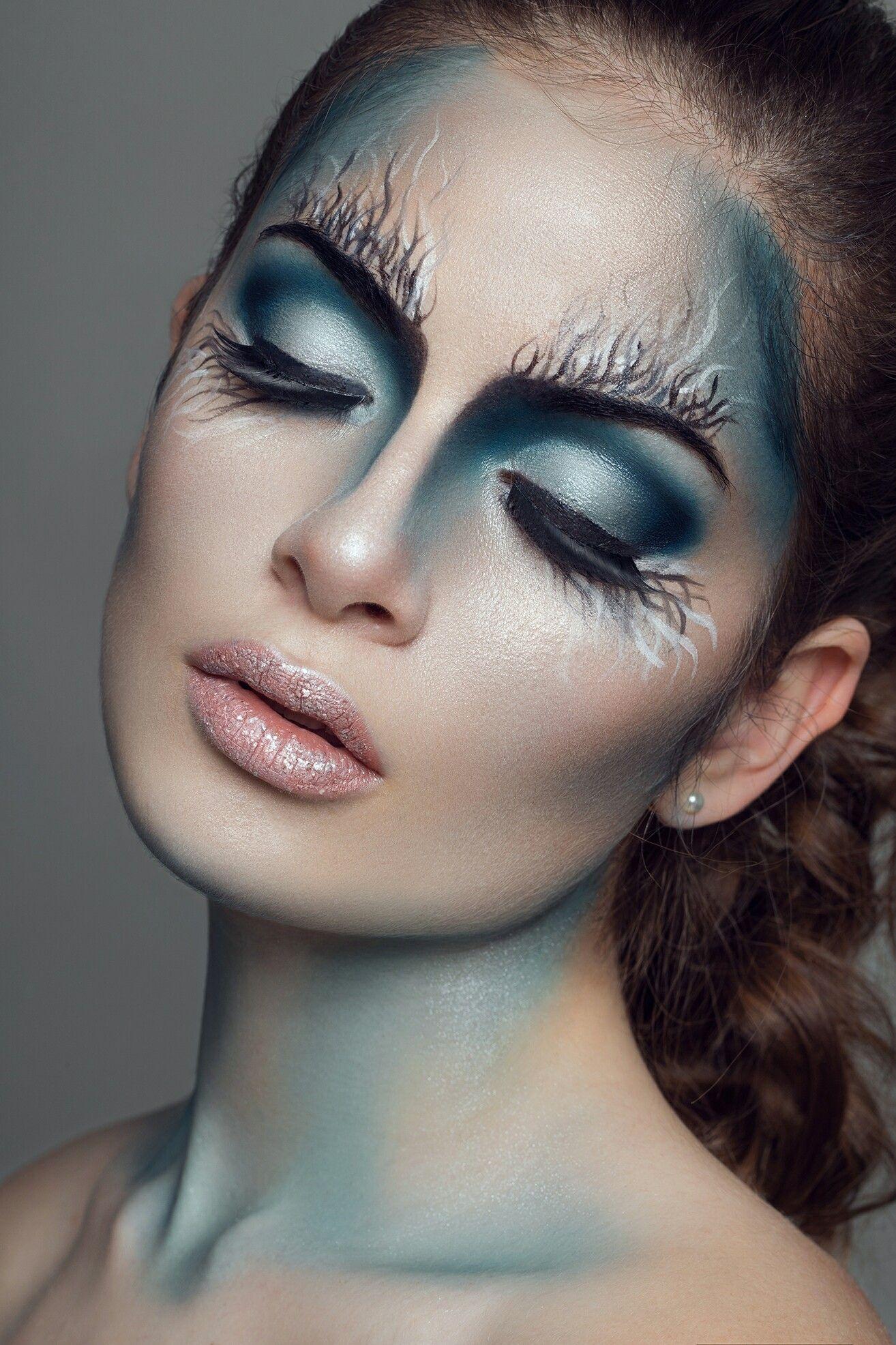 Pin by Myndi Stephens on Makeup is Art! Creative makeup
