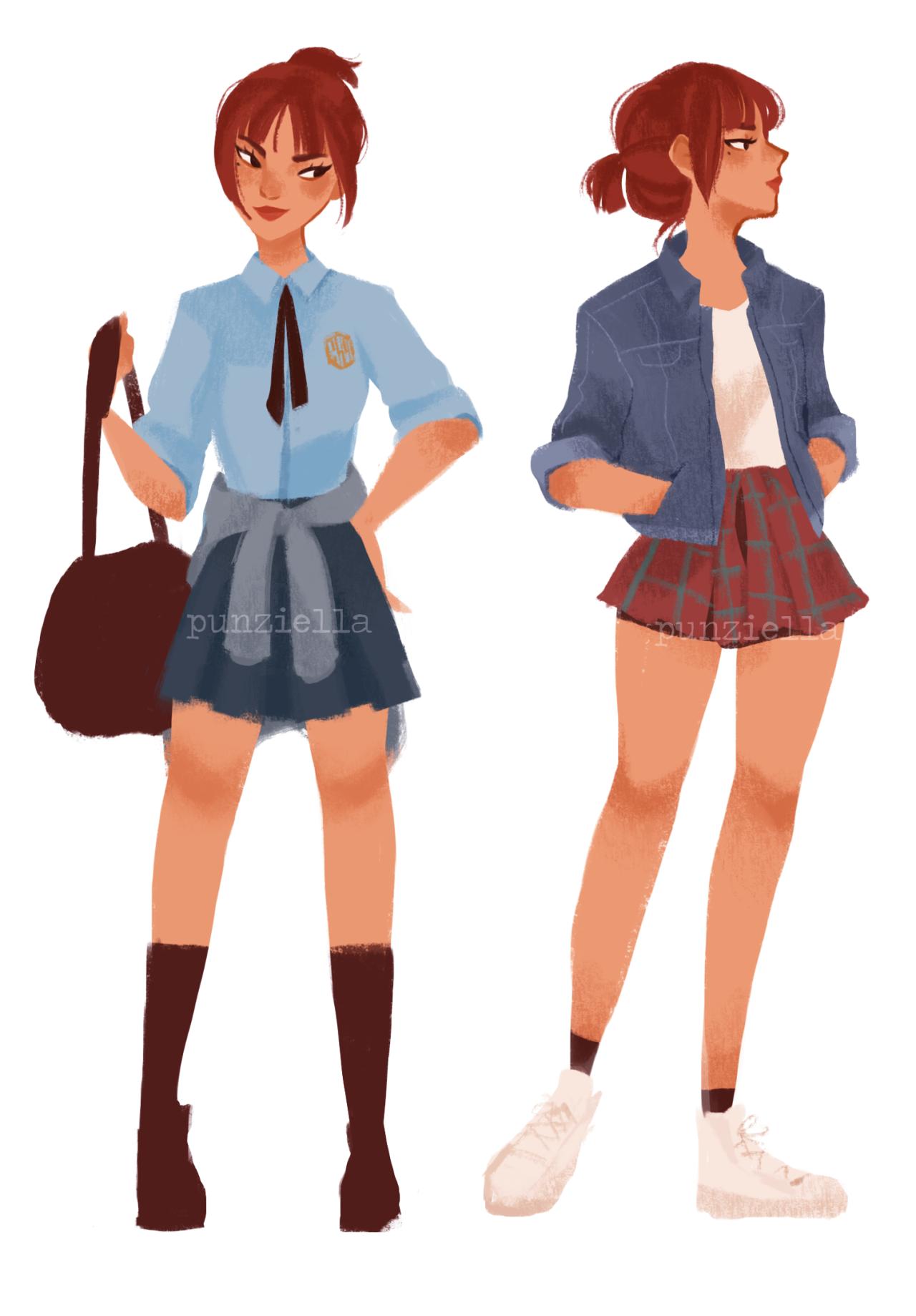 Character Design Cartoon Girl : Pauline ph she her paulinejdb gmail faq art edits